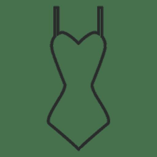 Badeanzug Kleidung Schlaganfall Transparent PNG