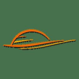 Logotipo do nascer do sol