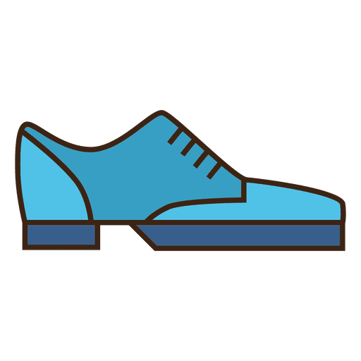 Blue stroke shoes sneakers Transparent PNG