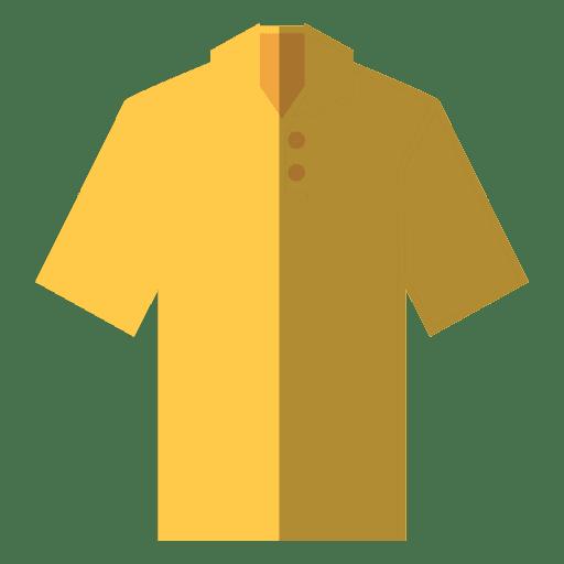 Flat shirt clothes