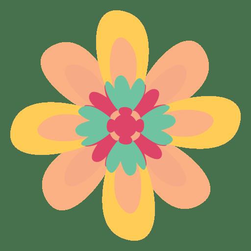 Flower doodle illustration drawing