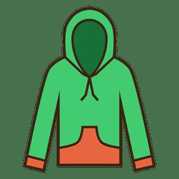 Hoodie blazer