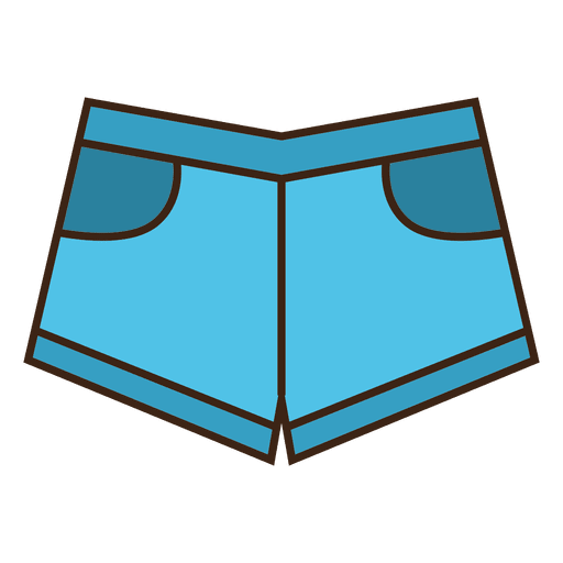 Jean roupas de baixo azul Transparent PNG