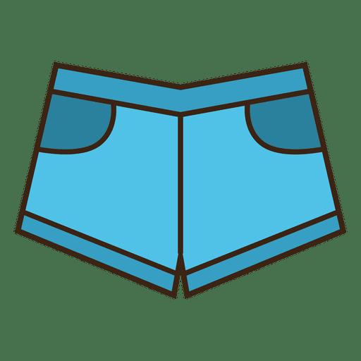 Jean short clothing blue Transparent PNG