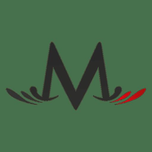 La letra M remolina el isotipo