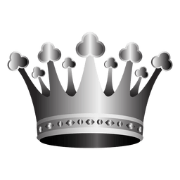 3d crown illustration