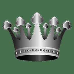 Ilustração da coroa 3d