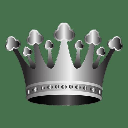 Ilustración de corona 3d