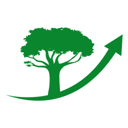 Logotipo del árbol de la flecha