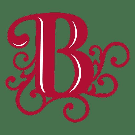 La letra B remolina el isotipo