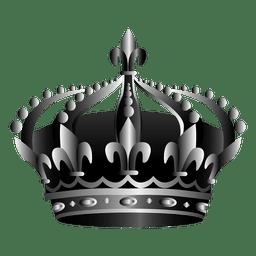 Ilustración del icono de la corona
