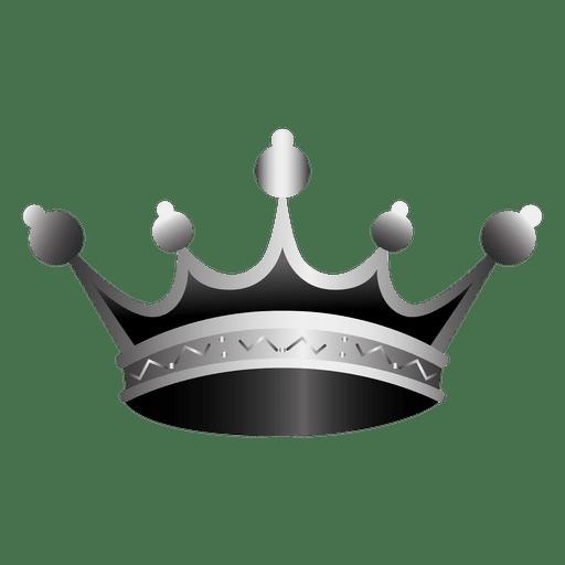 Ilustración realista del icono de corona