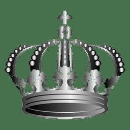 Ilustração 3d da coroa