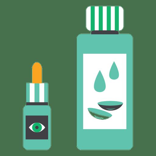 Flat liquid medicine Transparent PNG