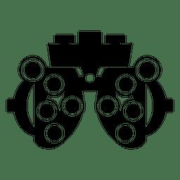 Silhueta de ícone de máquina