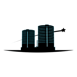 Multistory buildings icon
