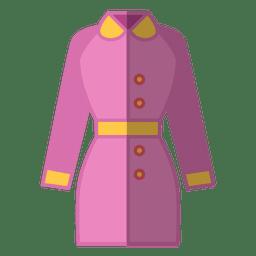 Roupas de jaqueta rosa