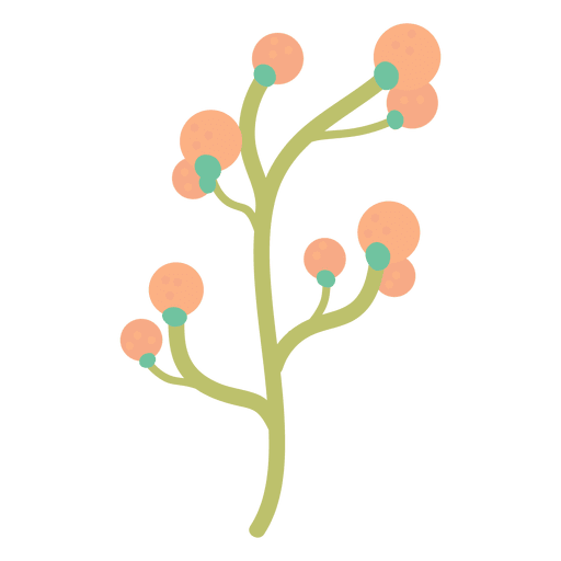 Plant doodle illustration Transparent PNG