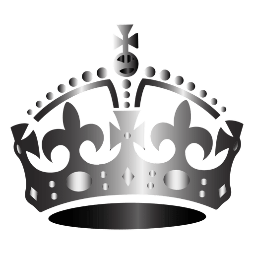 Queen crown icon Transparent PNG