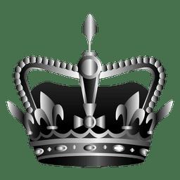 Reina corona ilustración