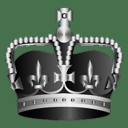 Ilustração realista da coroa