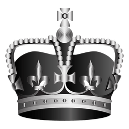 Realistic crown illustration