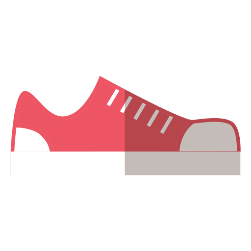 Red shoes sneakers Transparent PNG
