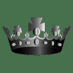 Icono de ilustración de corona de religión