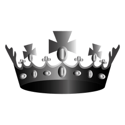 Religion crown illustration icon