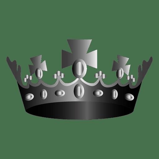 Religion crown illustration icon
