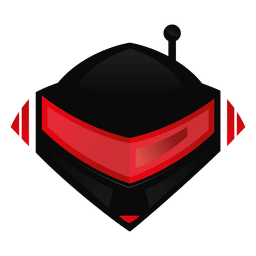 Robotic helmet logo