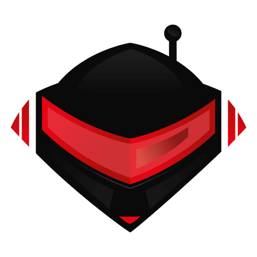Logotipo do capacete robótico Transparent PNG
