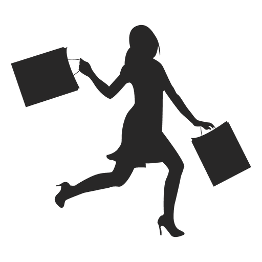 Shopping Woman Icon Transparent Png Amp Svg Vector