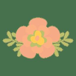 Pequeña ilustración de flores