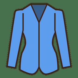 Stroke blue blazer vestuário ícone