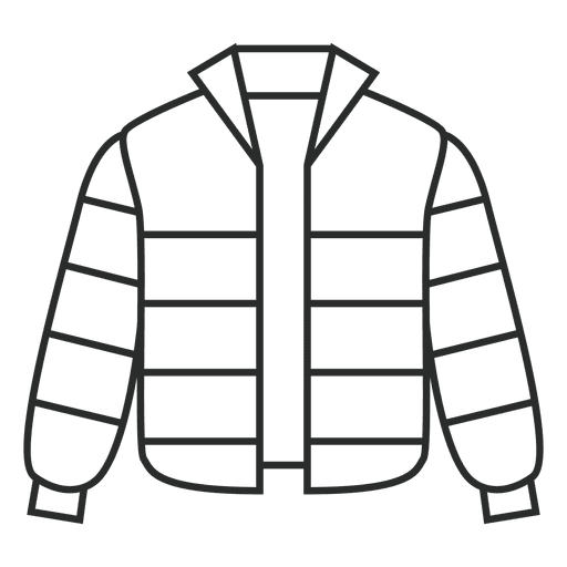 Stroke striped jacket clothing Transparent PNG