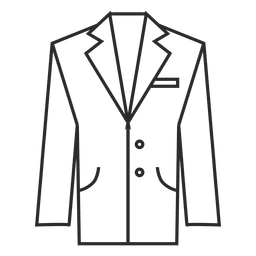Suit clothing stroke