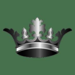 Ilustración corona vintage