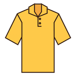 Yellow shirt clothes