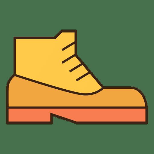 Sapatilhas de sapatos amarelos Transparent PNG