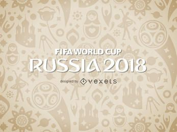 Russia 2018 World Cup pattern