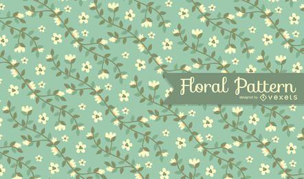 Patrón de flores de primavera