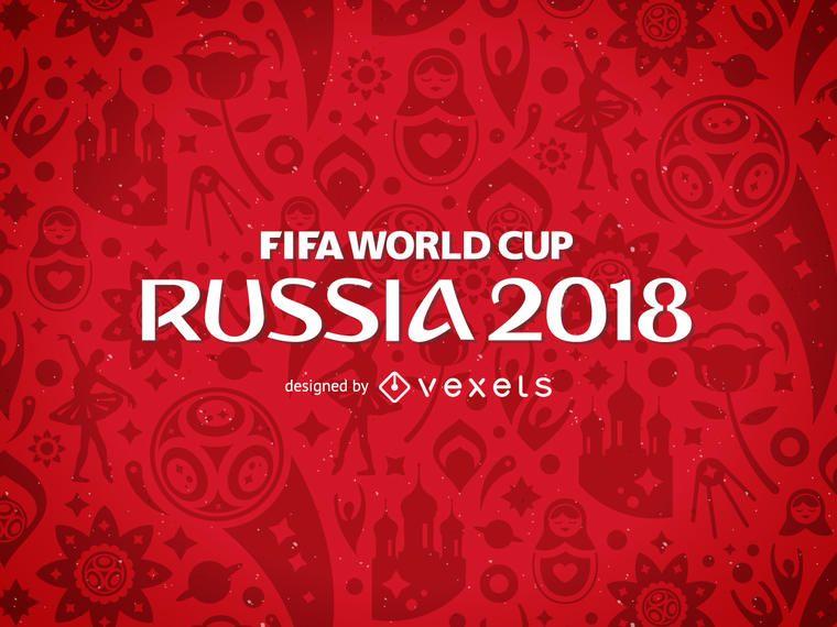 Rusia 2018 patrón de la Copa Mundial de la FIFA