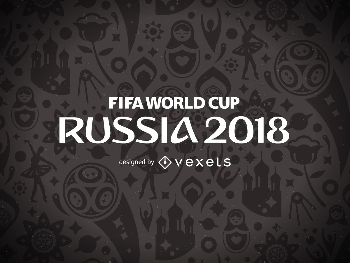 Russia 2018 World Cup pattern design