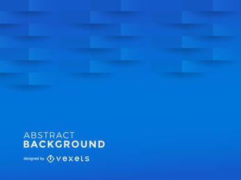 Blauer abstrakter Hintergrund mit polygonalen Formen 3D