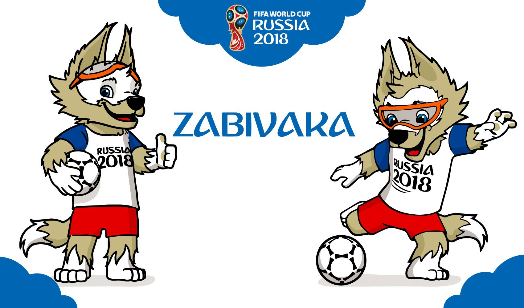 Rússia 2018 Copa do Mundo mascote Zabivaka - Baixar Vector c1c4d15e9ab2c