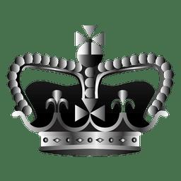 Ilustração de coroa de igreja