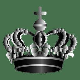 Ilustração da coroa do rei