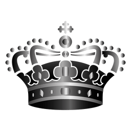 Religion crown illustration