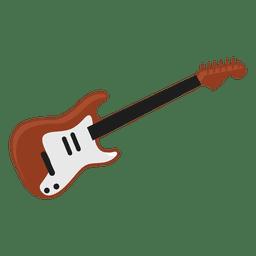 Ilustración de guitarra eléctrica